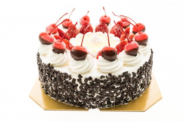 دیزاین کیک خامه ای