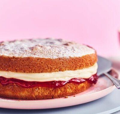 آموزش کیک ساده وانیلی