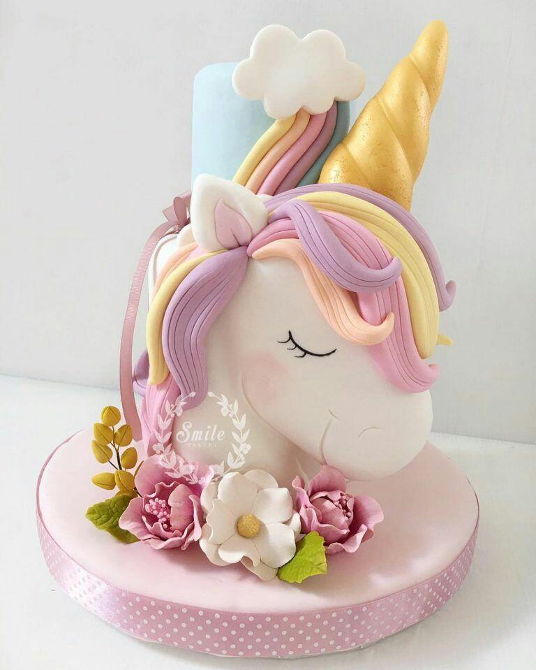 آموزش تاپر کیک – اسب تک شاخ
